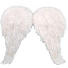"""Genuine """" FEATHER WINGS """" Pure White Angel Halloween Costume Accessory by JHats"""