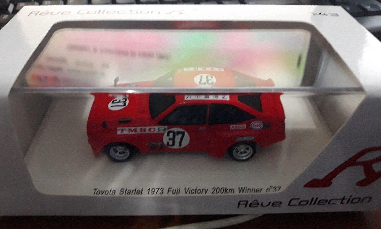 Reve Collection 1 43 Toyota Starlet Winner 200 km Fuji 1973 R70232
