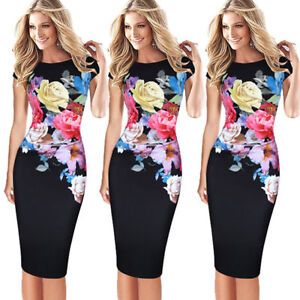 New-Fashion-Women-Short-Sleeve-Bodycon-Casual-Evening-Party-Cocktail-Mini-Dress