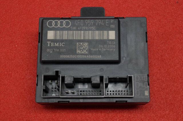 Audi A6 4F C6 Unidad Hr 4F0959794E 4F0910795E Iluminación Ambiental / Der.