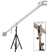 ProAm Camera Crane Jib Boom Support Stand, Max 6' High 360º Pan, Aluminum Mount