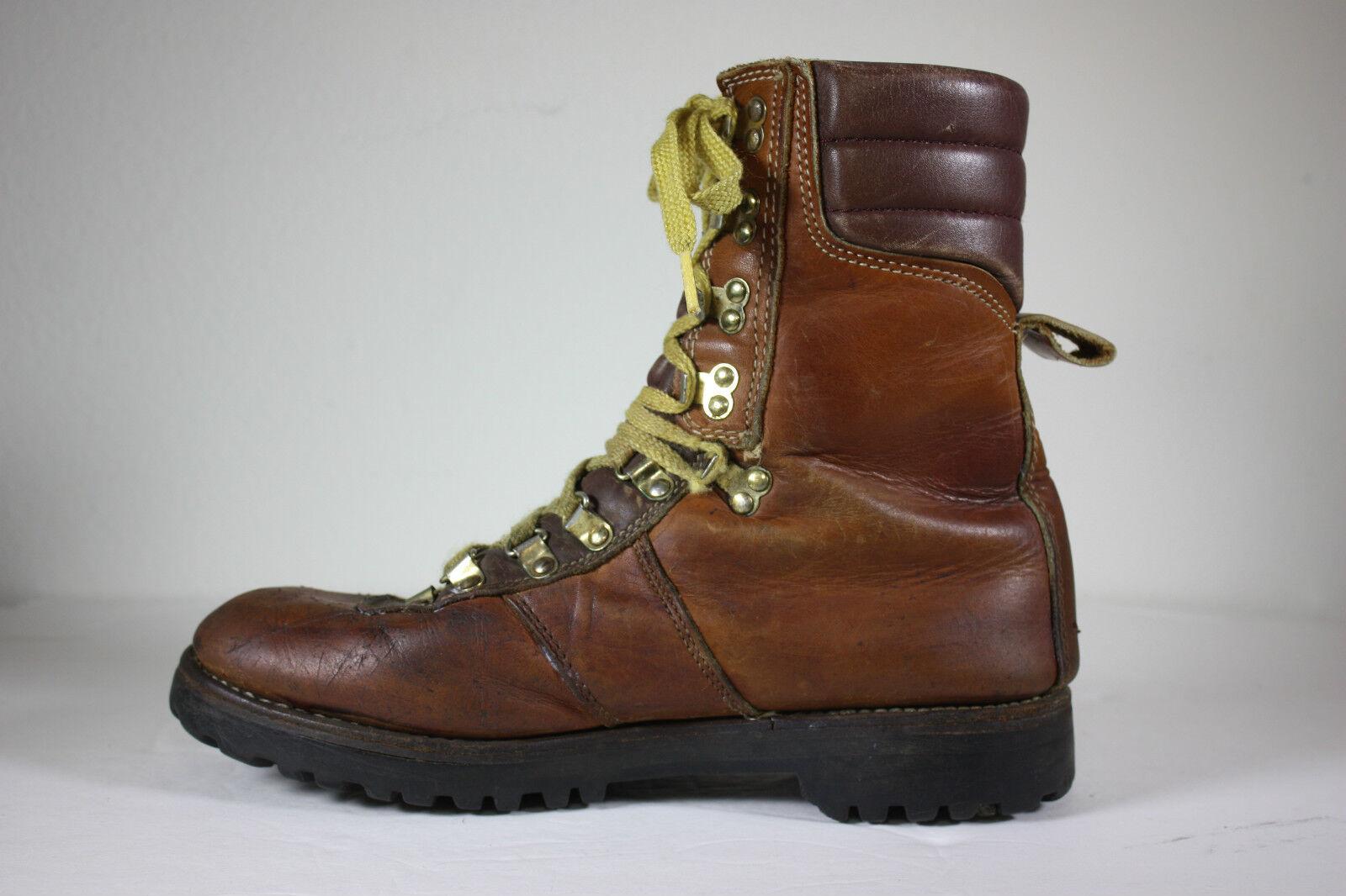 Mont blanc Uomo 9 1 / 2 d lineman cerca lavoro stivali di pelle scarpe da lavoro