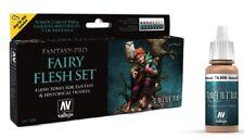 Vallejo VLJ-74101 Fairy Flesh Tones Fantasy-Pro Paint Set Model Air 8 Colors