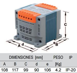 Cuadro eléctrico para Piscina con Transformador AC 300w.