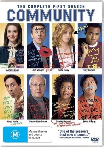 1 of 1 - Community : Season 1 (DVD, 2010, 4-Disc Set)