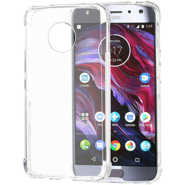 premium selection 0e47a 897bc Abacus24-7 Motorola Moto X4 Case Slim Fit Protective TPU Skin Cover - Clear