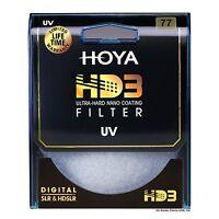 Hoya 77mm Hd3 32-layers Coating Uv (ultra Violet) Filter. U.s Authorized Dealer