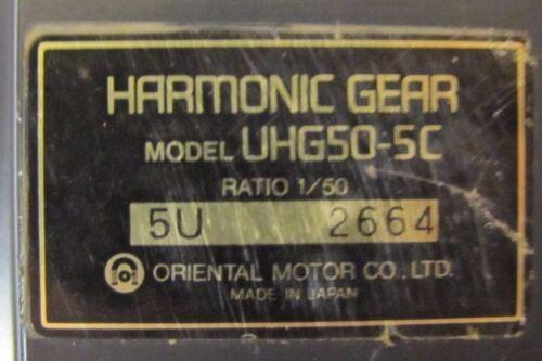 ORIENTAL MOTOR KXSM5150HG1-BL 150W 3000RPM SERVO MOTOR /& UHG50-5C 50:1 GEAR HEAD