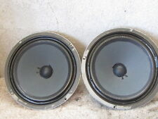 """2 Vintage 70's 12"""" Speakers woofers - Fisher executive console"""