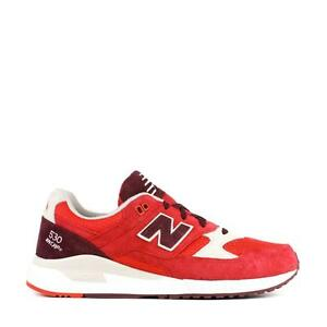 newest 1056c 03ef5 Details about NEW BALANCE 530 ELITE EDITION PAPER LIGHTS M530RAA  RED/CHOCOLATE CHERRY/OYSTER