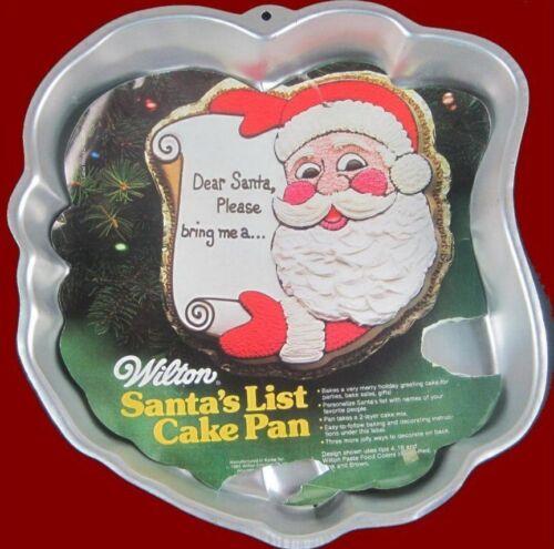 Santa/'s List Cake Pan by Wilton