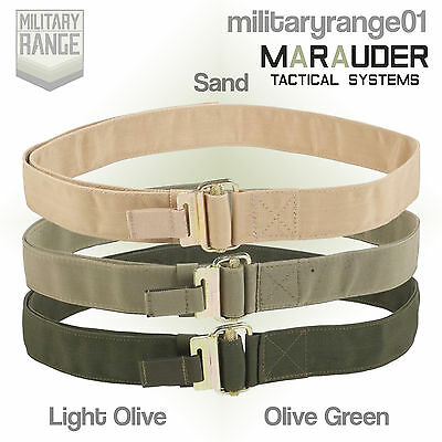 50mm olive webbing British Army Genuine military quick release belt Roll pin