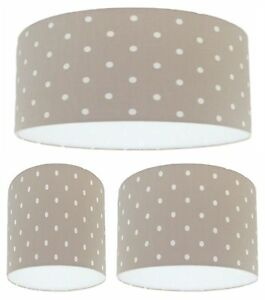 Image Is Loading Handmade Lampshade Clarke And Taupe Beige
