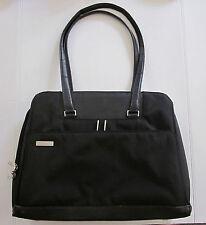 VICTORINOX Black Nylon Multi-Compartment Canvas Laptop Briefcase Travel Bag