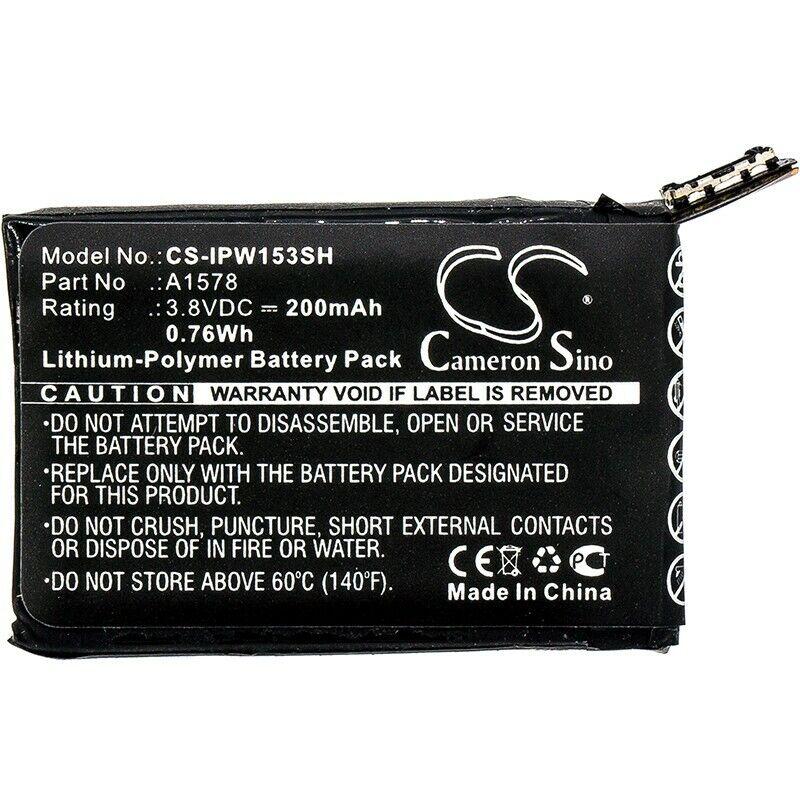 Cameron SinoSmartwatch BatteryCS-IPW153SH for  Apple  Watch 38mm  etc.