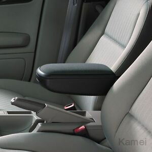 Kamei-Armlehne-Mittelarmlehne-Stoff-schwarz-VW-Bulli-T5