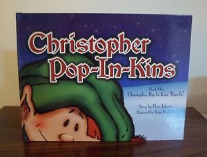 Christopher-Pop-In-Kins-Elf-Storybook-Large-Size-Hardcover-Book-Only