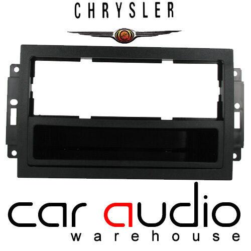 Connects2 Chrysler JEEP Dodge Car Stereo Radio Fascia Facia Panel Plate