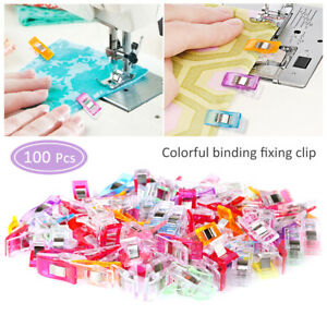 US-Mixed-Magic-Sewing-Clips-for-Fabric-Crafts-Quilting-Sewing-Knitting-Crochet