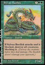 Sylvan Basilisco // nm // portal second Age // Deut. // Magic the Gathering