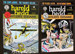 Harold-Hedd-Hitler-039-s-Cocaine-1-2-VF-NM-Rand-Holmes-Set-RARE-Kitchen-Sink-Comix