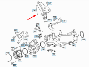 Details about MERCEDES-BENZ M-CLASS W164 noise Silencer A6421400087 New  Genuine