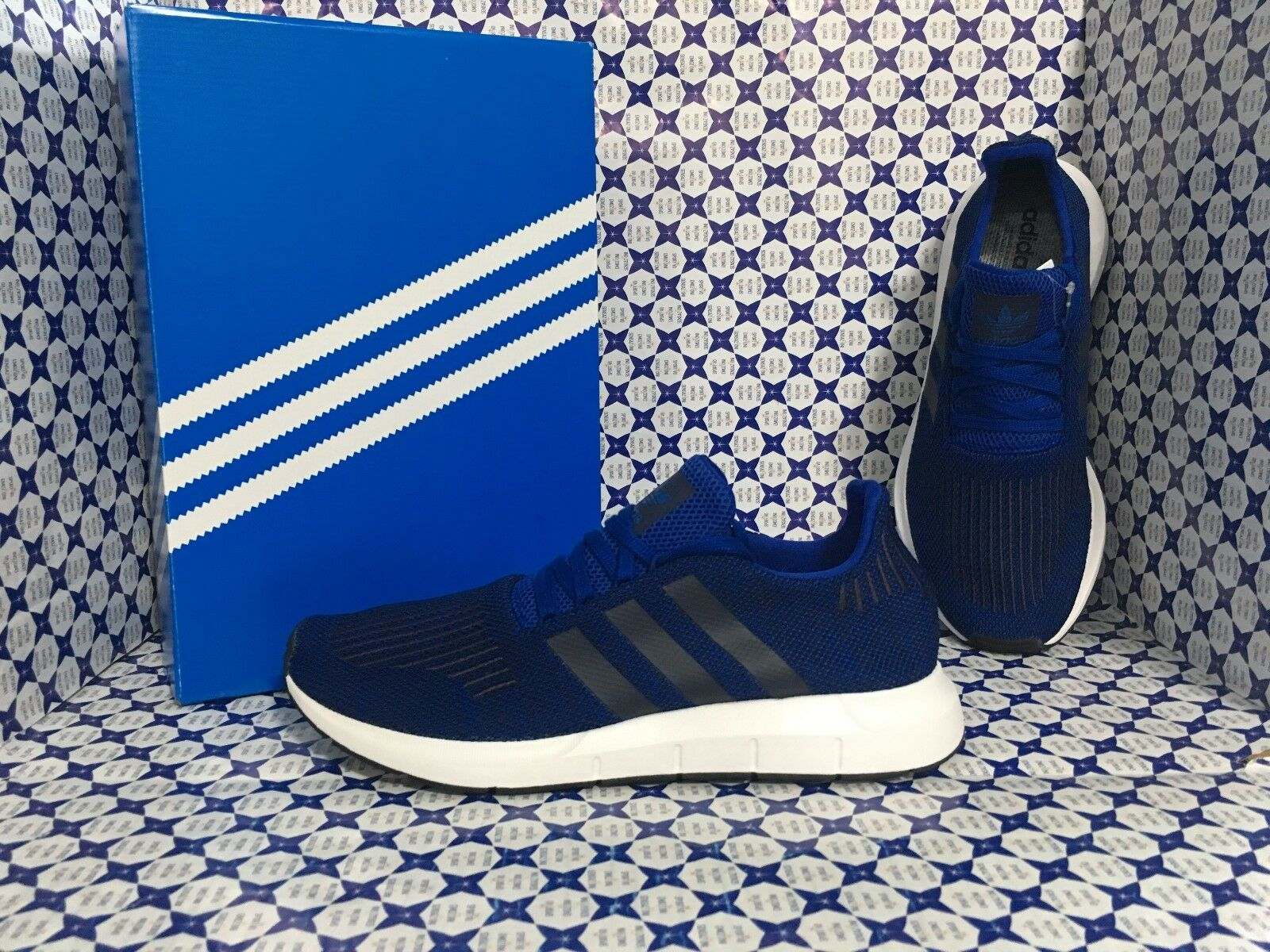 Scarpe ADIDAS Uomo - Swift Run CG4118 - Bluette Nero - CG4118 Run 07ba3e