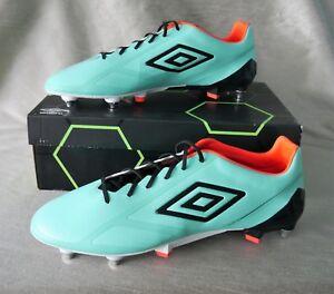01b40ebfda Umbro Velocita 2 Pro Turquoise SG Football Boots - size 12 *RRP £130 ...