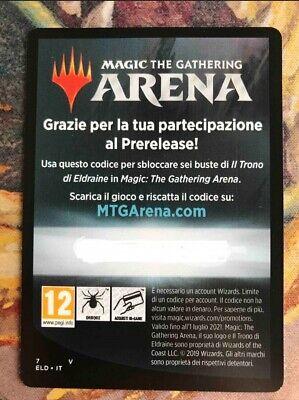 Core Set 2020 M20 MTGA Magic Arena 6x Booster Packs Digital Delivery Code 1//acct