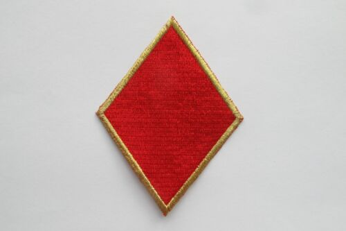 """#2699 4/"""" Red Diamond Suit Playing Card Poker Card Embroidery Applique Patch"""