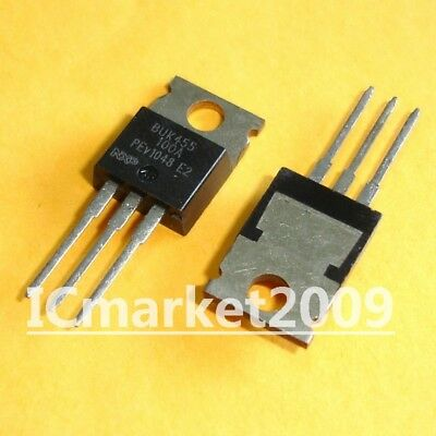 2pcs-PHILIPS BUK456-60A powermos Transistor-TO-220