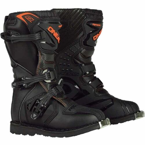 ONEAL NEW MX RIDER ADULT BOOT DIRT BOOT BLACK ORANGE CHEAP BOOT