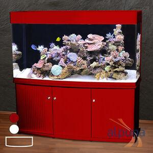 RG-150-Panorama-Aquarium-T5-Meerwasseraquarium-500-Liter-gt-dunkelrot