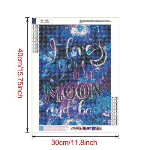NEU 5D Diamond Painting Full Diamant Kreuzstich Stickerei Malerei Bilder