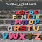 The Alphabet in 3D with Bigunki. Crochet Patterns by Begona Sanchez-Sauthier Berrojalbiz (Paperback / softback, 2013)