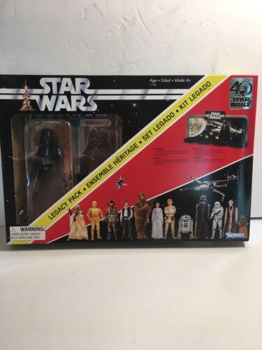 HASBRO Star Wars Black Series 40TH ANNIVERSARY Legacy Pack Darth Vader New