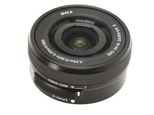 Without-Box-Sony-SEL-E-PZ-16-50mm-F3-5-5-6-OSS-Lens-SELP1650-Black