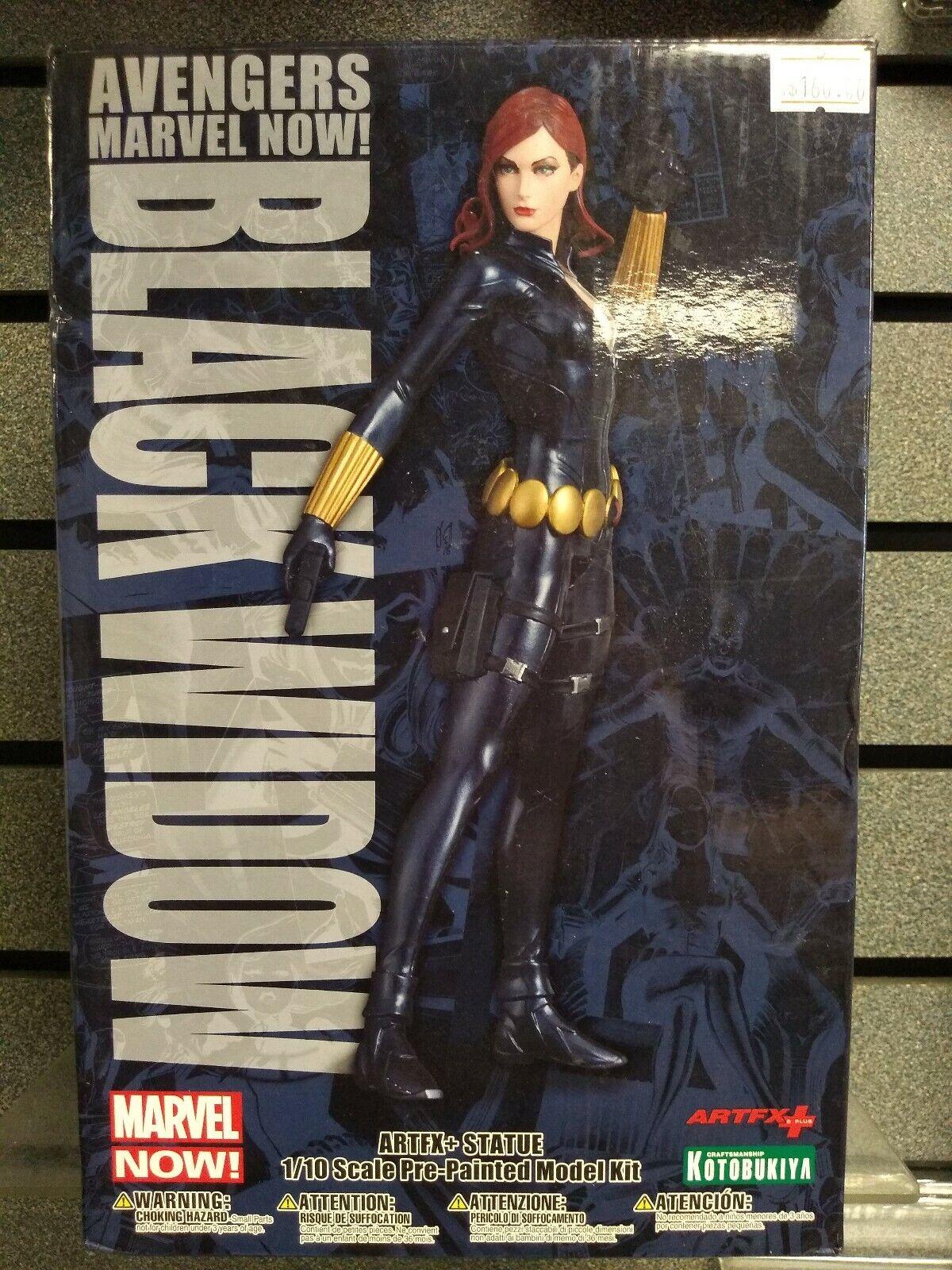 Marvel   Kotobukiya   Vengadores Viuda Negra     Seminuevo   Envío rápido