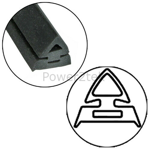 Hotpoint Oven Cooker Door Seal Gasket /& Rounded Corner Fixing Clips Curved