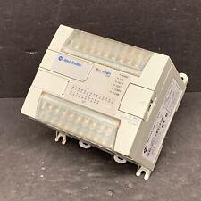 Allen Bradley 1762 L24bxb Ser C Rev H Frn 11 Micrologix 1200 Controller Plc Cpu