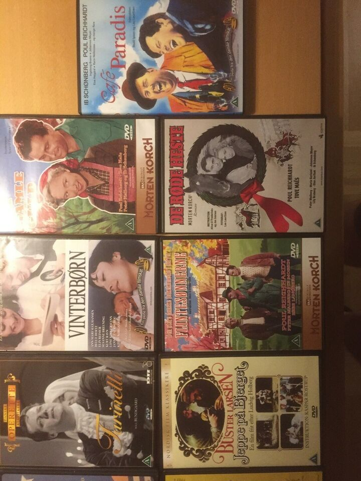 Danske film, instruktør Morten Koch , DVD