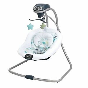 Graco Newborn Simple Sway Infant Baby Swing Cradle