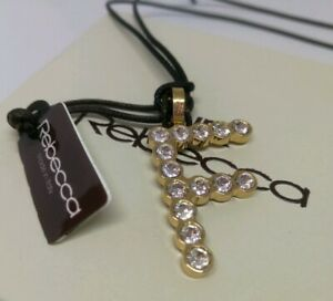 collier femme initiale