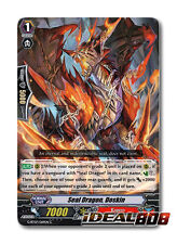 Cardfight Vanguard  x 4 Seal Dragon, Doskin - G-BT07/069EN - C Mint