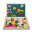 Puzzles-Rompecabezas-Magneticos-de-Madera-Juguetes-Educativos-Para-Ninos-Nina-3 miniatura 1