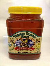 3lbs 100% ORGANIC Quality Raw Honey Unfiltered Honey Wildflower (Kosher) Brazil