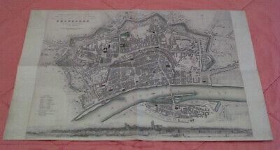 Blick Auf Die Freie Stadt Frankfurt Am Main 1830 - Replikat