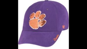 on sale e7808 9ccb3 Image is loading New-W-Tag-47-Brand-Women-s-Clemson-