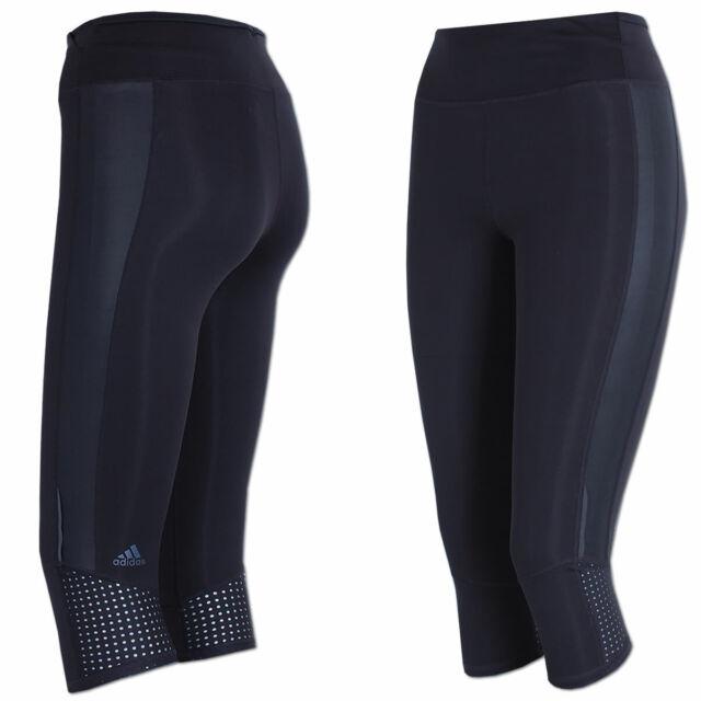 adidas Damen Supernova 3/4 Tights Black M