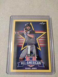 Daniel-Jones-2019-Leaf-Draft-Football-All-American-Gold-Duke-Blue-Devils